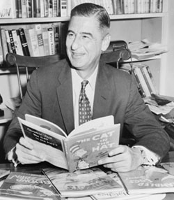 Photograph of Ted Geisel (a.k.a. Dr. Seuss)